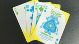 ally Ho Fan Back Summer Playing Cards