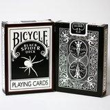 bicycle kaarten black spider