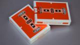 Gemini Casino Orange Speelkaarten
