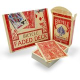 Bicycle faded deck rood
