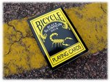 Bicycle Black Scorpion Deck_