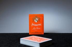 Aristocrat Oranje Speelkaarten