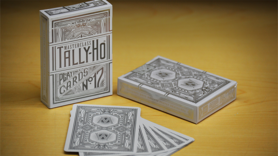 Limited Edition Tally-Ho Masterclass (White) Playing Cards