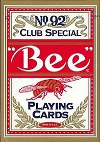 Bee cards poker rood