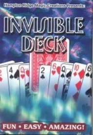 Bicycle Invisible deck blauw