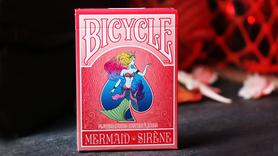 Mermaid Speelkaarten (Red)