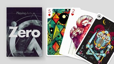 Playing Arts Edition Zero Playing Cards