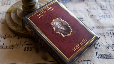 Ludwig van Beethoven (Composers) Playing Cards