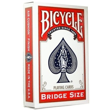 Bicycle rider back bridge rood