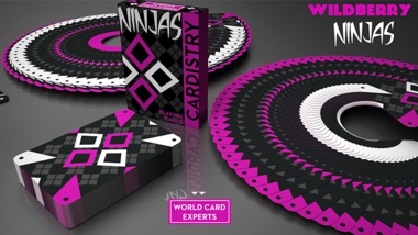 Cardistry Ninja Wildberry by De'vo vom Schattenreich and Handlordz