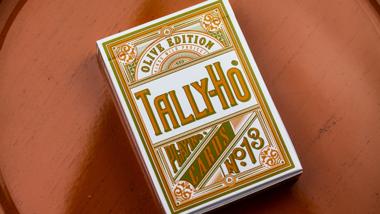 Olive Tally Ho Speelkaarten