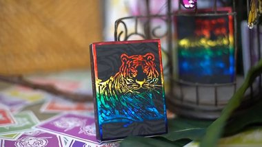 The Hidden King Rainbow Luxury Edition Playing Cards by BOMBMAGIC