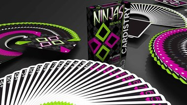 Limited Edition Cardistry Ninjas Remix by De'vo