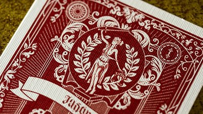Justice (Red) Playing Cards
