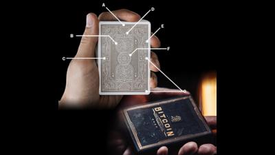 Bitcoin (Black) Speelkaarten by Patrick Kun