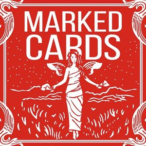 Bicycle Marked deck Rood