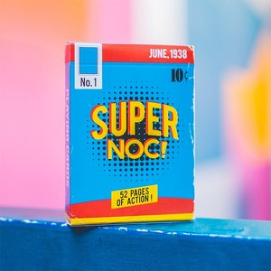 Super Noc 1st edition playing cards